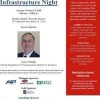 2018 Infrastructure Night @ FAU