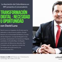Conversatorio Colombiano: David Luna