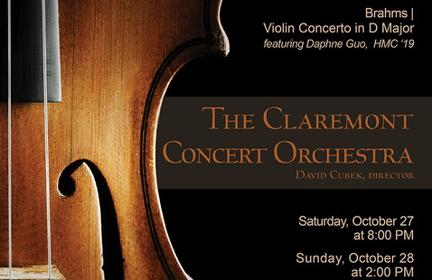 The Claremont Concert Orchestra performance