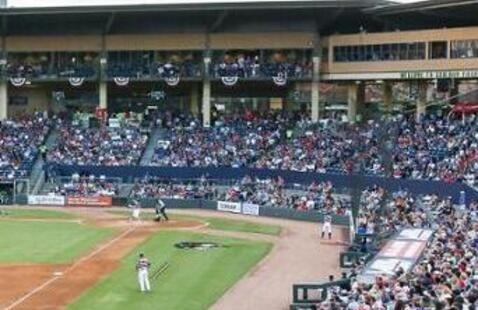 Gwinnett Stripers vs Durham Bulls