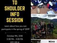 Shoulder-To-Shoulder Information Session