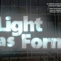 Public Reception: Light as Form