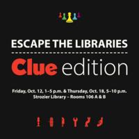 Escape the Libraries: Clue Edition