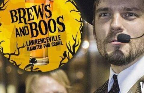 Brews and Boos- Lawrenceville Haunted Pub Crawl