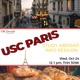 Study Abroad in France Info Session - USC Paris