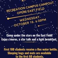 Recreation Campus Campout