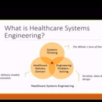 Healthcare Systems Engineering Info Session Webinar | Industrial and Systems Engineering