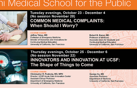 Osher Mini Medical School for the Public: Common Medical Complaints – When Should I Worry?