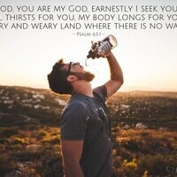 Verse of the Day - Psalm 63:1