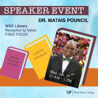 Matais Pouncil presents African-American LGBTQ Art and Literature