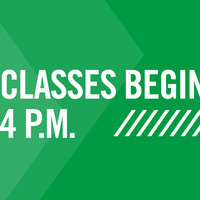 Classes Begin After 4PM