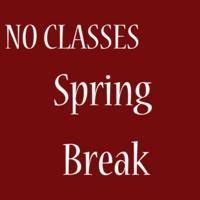 Spring break (no classes)