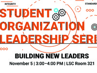 Student Organization Leader Series: Building New Leaders