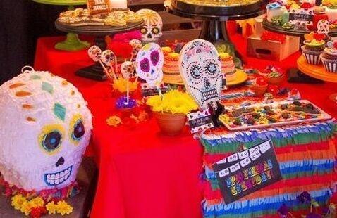 Dia de los Muertos (Day of the Dead) Altar Viewing Reception