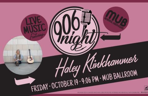 906 Night with Haley Klinkhammer