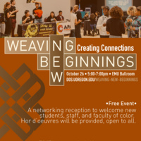 Weaving New Beginnings: Creating Connections 2018
