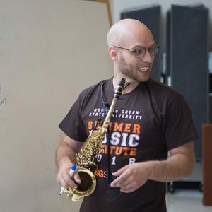 Master Class: Randy Hall, saxophone