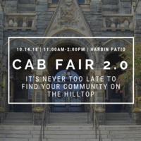 CAB Activities & Organizations Fair