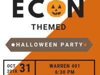 Econ-Themed Halloween Party