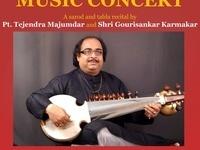 SPICMACAY Fall'18 Concert ft. Pandit Tejendra Narayan Majumdar