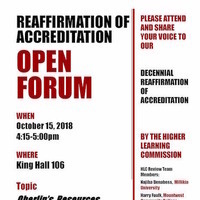 Reaffirmation of Accreditation Open Forum 3