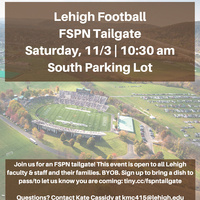Faculty & Staff Pride Network (FSPN) Tailgating Party | Pride Center