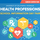 Health Professions School Information Day Fair