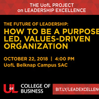 The Future Of Leadership:  How To Be a Purpose Led, Values-Driven Organization