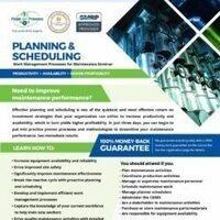 Maintenance Planning & Scheduling