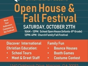 Open House & Fall Festival