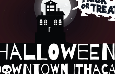 Halloween in Downtown Ithaca