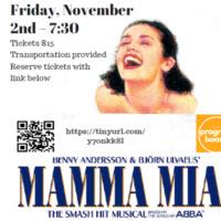 Program Board Presents Mamma Mia!