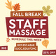Staff Massages Only $30