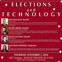 2018-2019 Arthur Miller Lecture on Science and Ethics: Elections and Technology