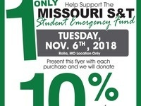 Fundraiser for Student Emergency Fund