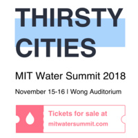 MIT Water Summit: Thirsty Cities