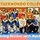 Texas Taekwondo College Day & Training Session with Master Lee