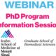 PhD Information Session Webinar: Overview of PhD Program