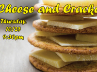 Study Break: Cheese and Crackers