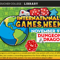 INTERNATIONAL GAMES WEEK: Dungeons and Dragons