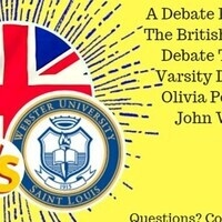 The British are Coming! - a Debate between Webster ad the British National Debate Team