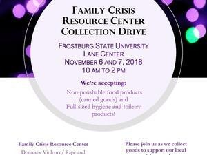 Family Crisis Resource Center Collection Drive