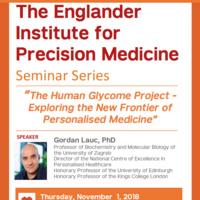 Englander Institute for Precision Medicine Seminar Series