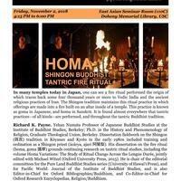 HOMA: Shingon Buddhist Tantric Fire Ritual (USC CJRC)