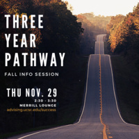 Three Year Pathway Fall Info Session