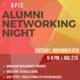 APIC Alumni Networking Night