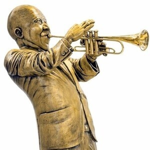 """Louis """"Satchmo"""" Armstrong makes guest appearance at Bella Arte Gallery"""