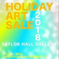 Art and Design Holiday Art Sale