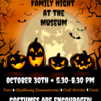 Family Night at the Museum of Fine Arts Halloween Night