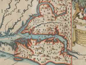 Maryland, from the Willard Hackerman Map Collection